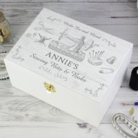 Sewing Kit Keepsake Box Thumbnail