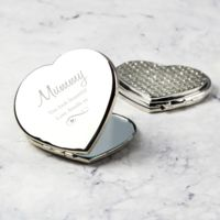 Diamante Heart Compact Thumbnail