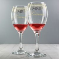 Confetti Wine Glasses Thumbnail
