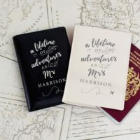 Mr & Mrs Passport Covers Thumbnail