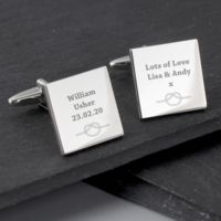 Tie The Knot Cufflinks Thumbnail
