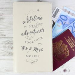 Personalised A Lifetime Of... Travel Document Holder Thumbnail