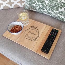 Take Time For Yourself Wooden Sofa Tray Thumbnail