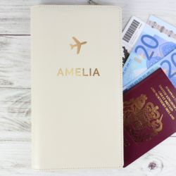 Personalised Stamp Travel Document Holder Thumbnail