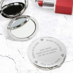 Mother of the Bride Compact Mirror Thumbnail